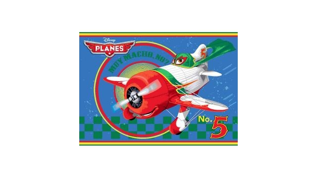 Disney Planes No.5 Speelkleed 95x133cm