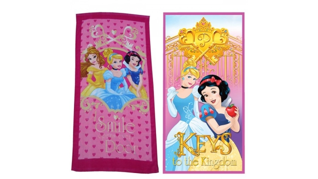 Disney Princess Badlaken 70x140 Assorti