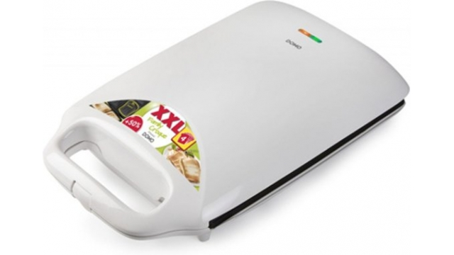 Domo DO9064C Tostiapparaat 900W Wit