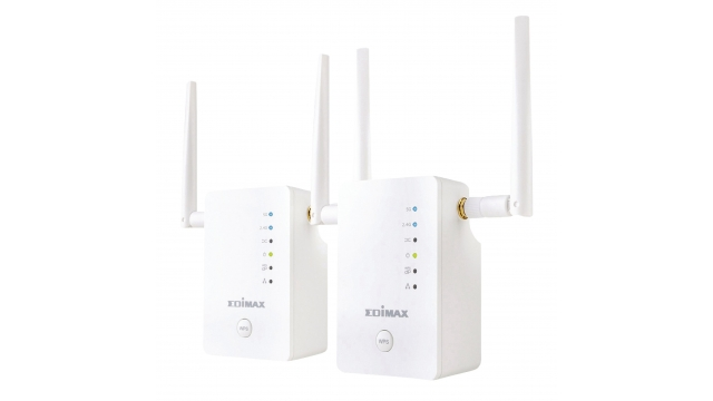 Edimax RE11 Draadloze Home Wi-Fi Roaming Kit N900 2.4/5 Ghz (dual Band) Wit