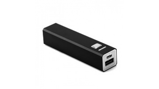 Energetic Powerbank 2600 Mah Zwart