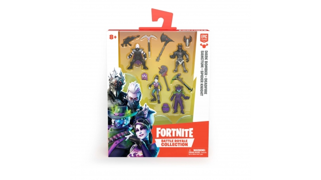Epic Games Fortnite Battle Royale Collection Figuren + Wapens