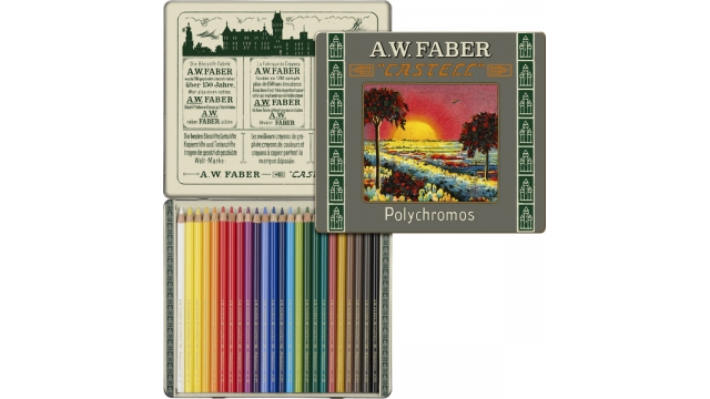Faber Castell FC-211002 111-jarig Bestaan Limited Edition A.W. Faber-Castell Polychromos Bliketui A 24 Stuks