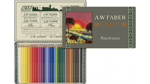 Faber Castell FC-211003 111-jarig Bestaan Limited Edition A.W. Faber-Castell Polychromos Bliketui A 36 Stuks