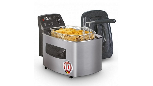 Fritel SF4340 Turbo Friteuse 3.5L 2800W Zilver/Antraciet Metallic