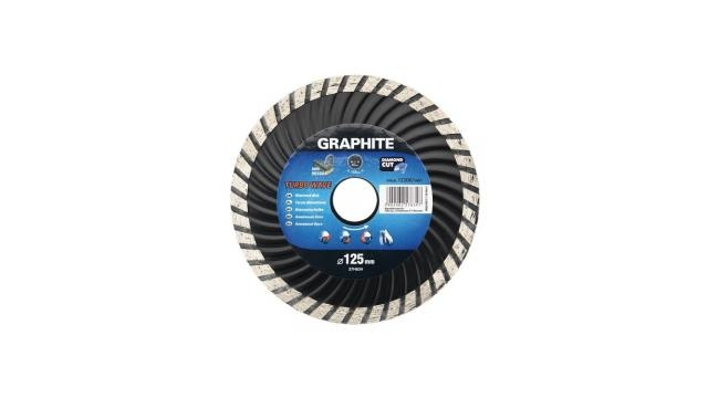 Graphite Diamantschijf 115x22x6,0x2,4mm Turbo MPA EN13236