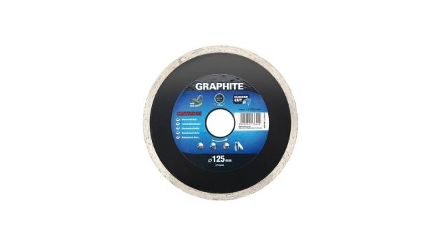 Graphite 57H644 Diamantschijf 180x22x6,0x2,5mm, Continuous, MPA EN13236