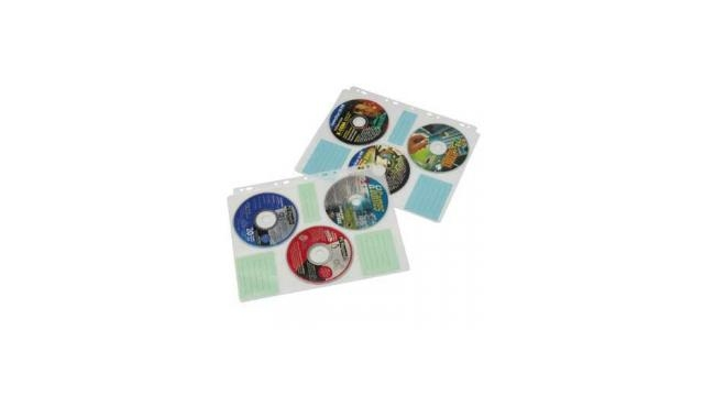 Hama CD Index Bladen voor 60 CD/DVD's