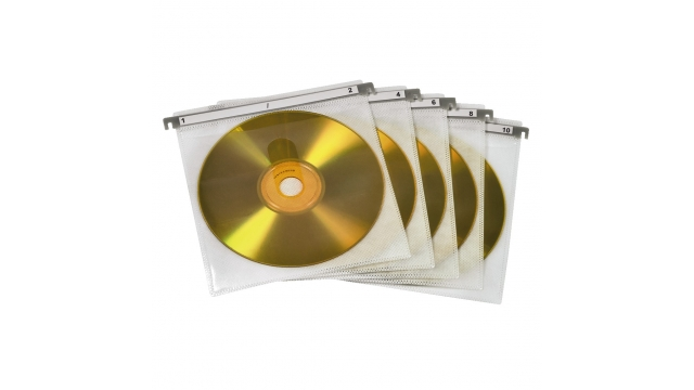 Hama Cd/Dvd Sleeve 50P. Wit