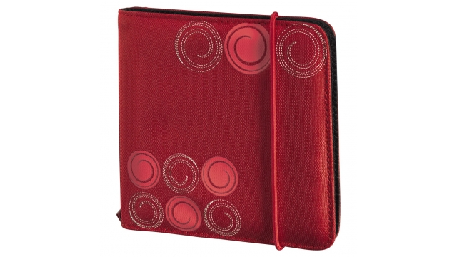 Hama Utf Cd/Dvd Wallet 24,Red