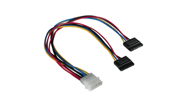 Hama Power Supply Cable 5,25-2X Ser Ata