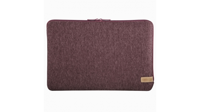 Hama Notebook-sleeve Jersey Tot 30 Cm (11,6) Donkerrood