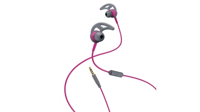 Hama In-ear-stereo-headset Action Pink/grijs