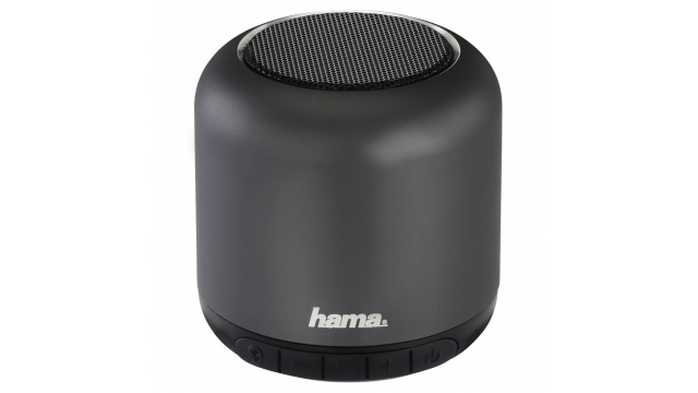 Hama Mobiele Bluetooth®-luidspreker Steel Drum Antraciet