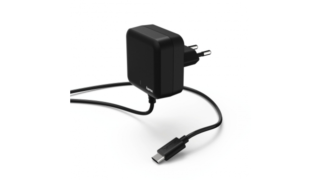 Hama Oplader USB Type-C Power Delivery (PD) 3A Zwart