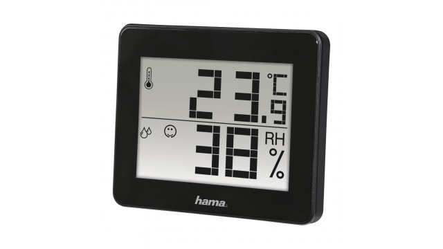 Hama Thermo-/hygrometer TH-130 Zwart