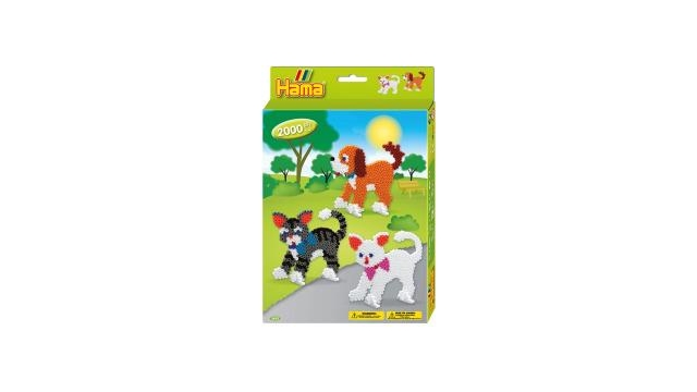 Hama Dog And Cats 2000stuks