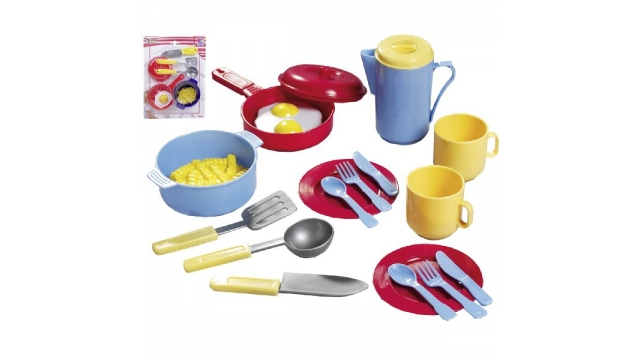 Happy People Juniors Home Kookset of Theeset Kids Assorti
