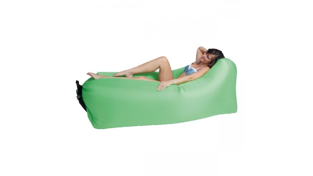 Happy People Lounger To Go 2.0 Luchtbed 180x75x60 cm Groen