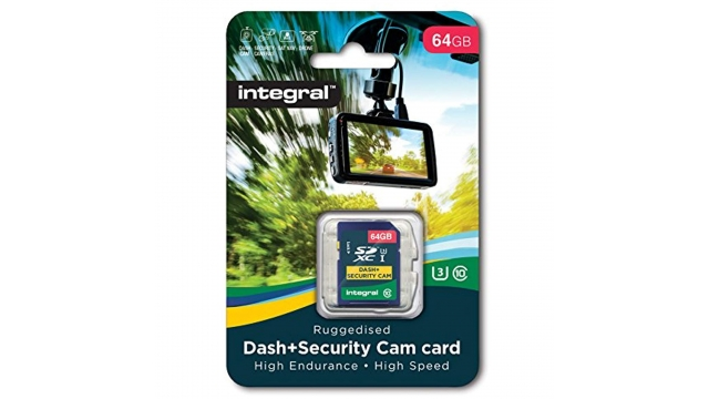 Integral Sdxc Dash En Security-cam 64gb