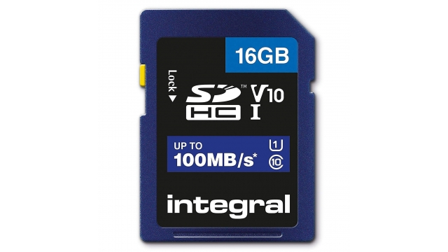 Integral Sdhc V10 100mb/s 16gb