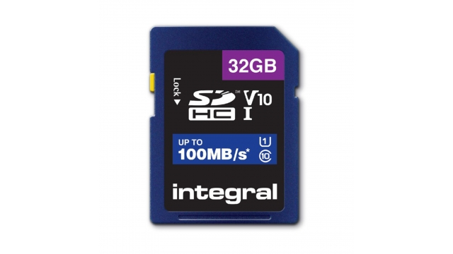 Integral Sdhc V10 100mb/s 32gb