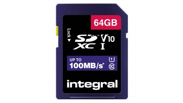 Integral Sdxc V10 100mb/s 64gb