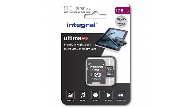 Integral Micro-sdxc V30 100/90mb 128gb