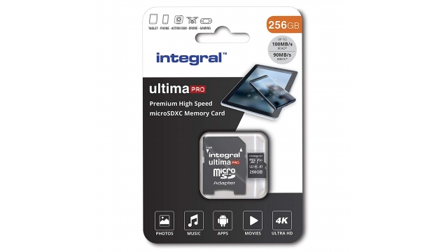 Integral Micro-sdxc V30 100/90mb 256gb