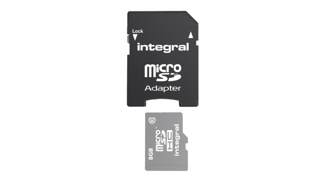 Integral Kaart Adapter Micro-sd -> Sd