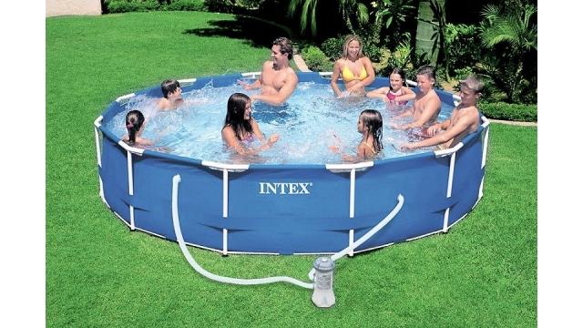 Axihandel zwembaden for Rechthoekig zwembad met pomp