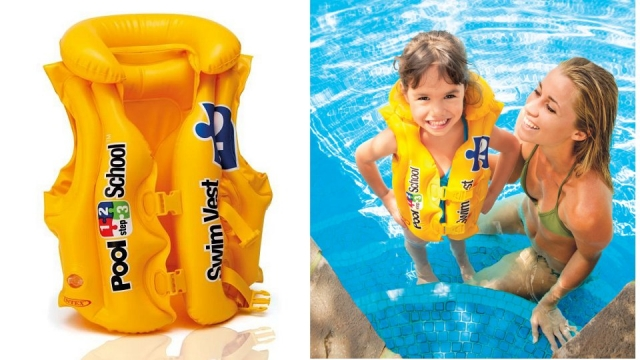 Intex Pool School 2 DeLuxe Zwemvest 3-6 Jaar