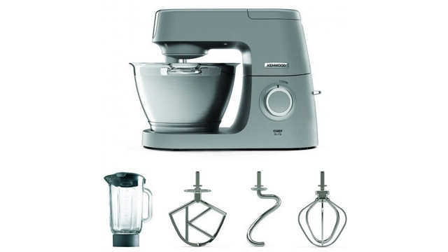 Kenwood KVC5320S Chef Elite Keukenmachine 1200W RVS