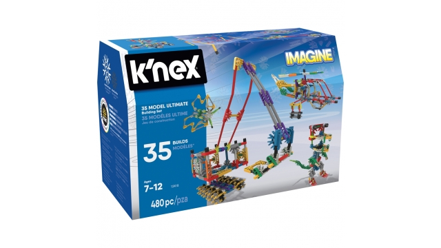 Knex Building Sets - Builder Basics 35 Model Set-Refresh