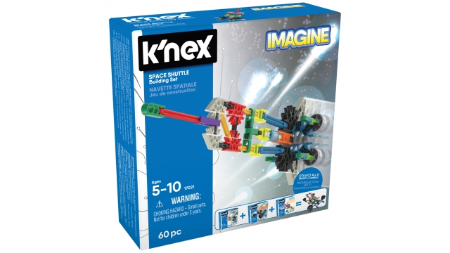 Knex Imagine Space Shuttle Building Set 60-delig