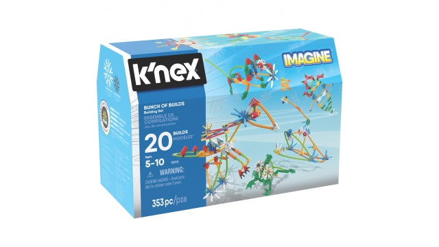 Knex Imagine Bunch of Builds Building Set 353-delig