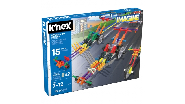Knex Power & Go Racers 166-delig