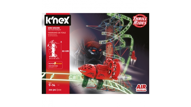 Knex Thrill Rides Web Weaver Roller Coaster