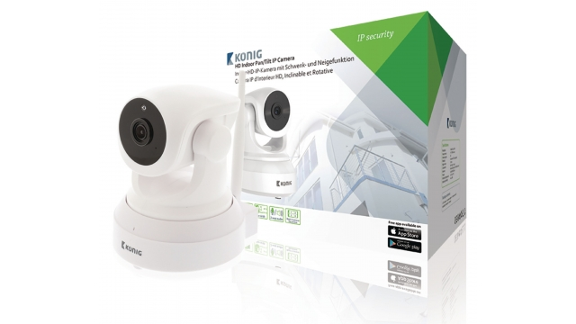 König SAS-IPCAM210W Hd Pan-tilt Ip-camera Binnen 1280x720 Wit