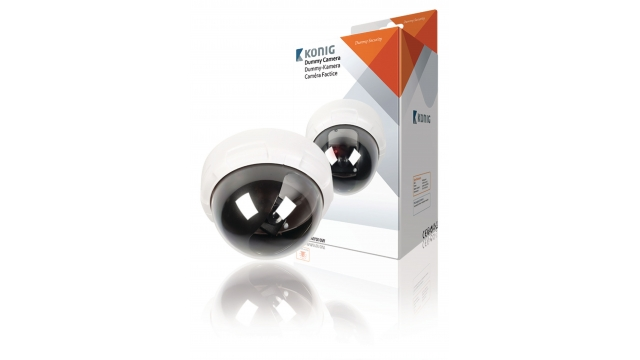 König SAS-DUMMY010W Dome Dummy Camera Ip44 Wit