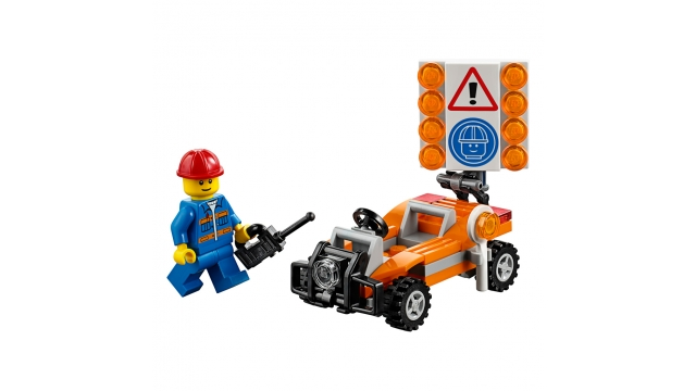 Lego City 30357 Road Worker