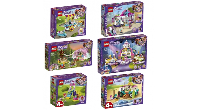 Lego Friends Display 30 Stuks