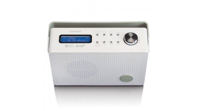 Lenco PDR030 DAB+ Radio Wit