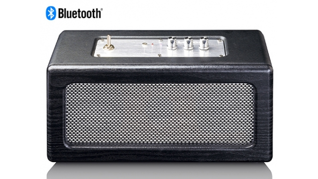Lenco BT-300 Bluetooth Speaker Zwart