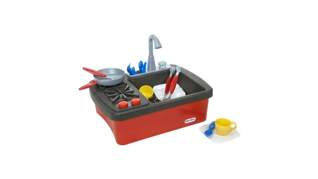 Little Tikes Splish Splash Mini Keuken met Kookplaat en Spoelbak Assorti