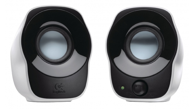 Logitech LGT-Z120 Speakerset 2.0 Bedraad 3.5mm 1.2W Zwart/Wit