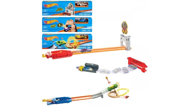 Hot Wheels Stunt Trackset Racebaan Assorti
