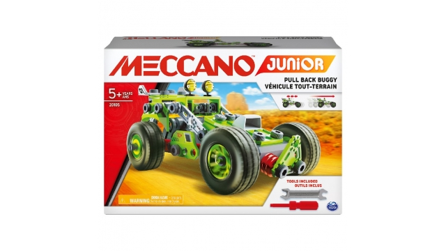 Meccano Junior Pull-Back Buggy