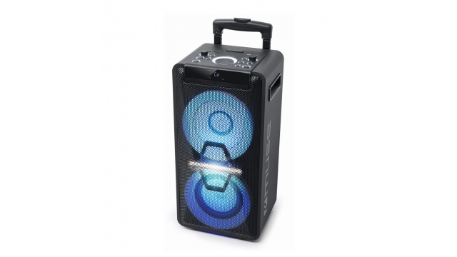 Muse M-1920DJ Party Box Bluetooth Speaker met Licht Zwart