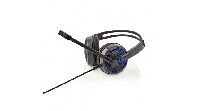 Nedis GHST200BK Gamingheadset Over-ear Microfoon 3,5 Mm Connectoren